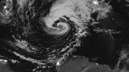 Εντυπωσιακή φωτογραφία του μεσογειακού κυκλώνα από τη NASA