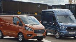 Η Ford αποκάλυψε τη νέα γενιά συνδεδεμένων και ηλεκτροκίνητων Transit