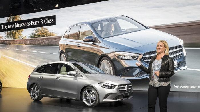 νέα Mercedes B Class