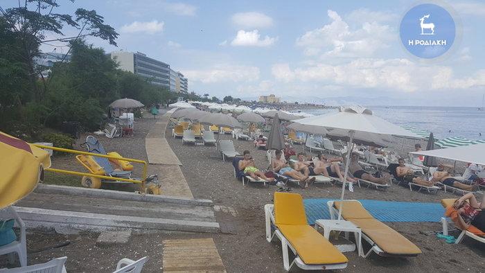Ζορμπάς ήταν και πέρασε: Γέμισαν οι παραλίες της Ρόδου - εικόνα 2