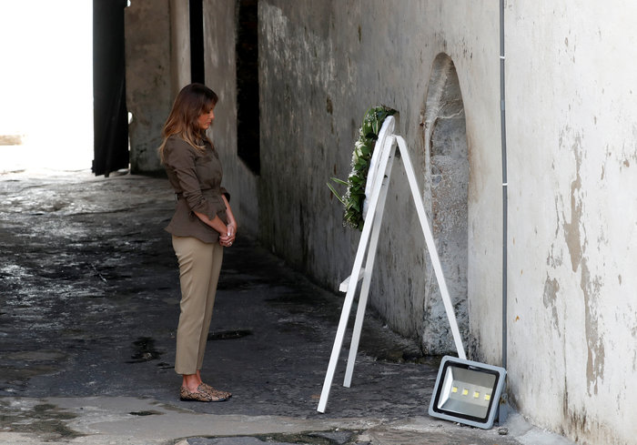 "H Μελάνια διέσχισε την ""πόρτα χωρίς επιστροφή"" - Εικόνες - εικόνα 2"