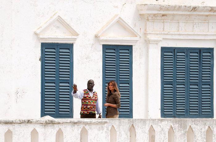 "H Μελάνια διέσχισε την ""πόρτα χωρίς επιστροφή"" - Εικόνες - εικόνα 4"