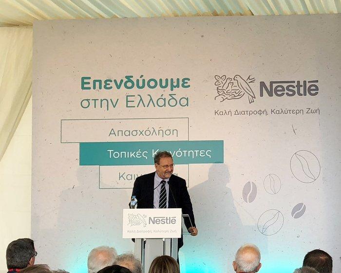 Ο αναπληρωτής υπουργός οικονομίας και ανάπτυξης Στέργιος Πιτσιόρλας
