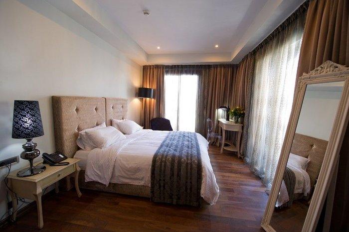 Τα άνετα δωμάτια του Boutique Hotel Dioni