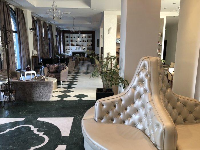 Οι εκλεπτυσμένοι εσωτερικοί χώροι του Boutique Hotel Dioni