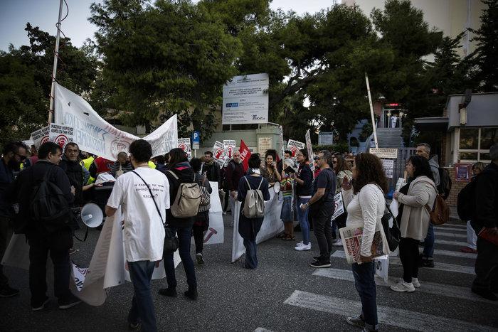 «Έμφραγμα» στο κέντρο της Αθήνας - απεργία και πορεία της ΠΟΕΔΗΝ - εικόνα 3