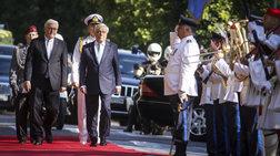 Θερμή υποδοχή του Γερμανού Προέδρου στην Αθήνα