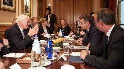 Οι συντάξεις στο επίκεντρο της συνάντησης Μητσοτάκη-Σταϊνμάιερ