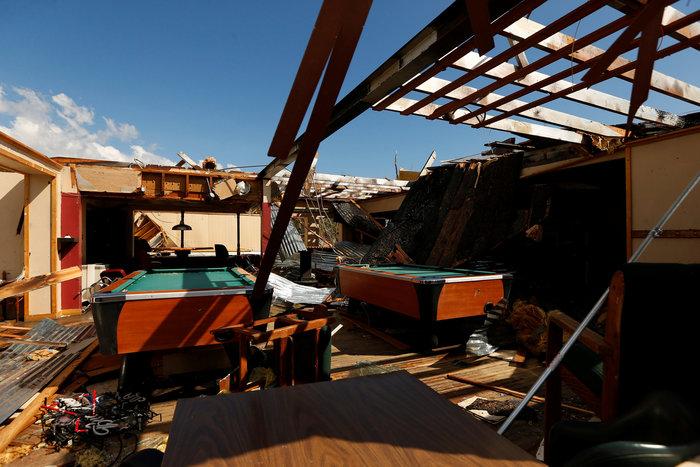 Η τροπική καταιγίδα Μάικλ σάρωσε την Φλόριντα - εικόνα 2