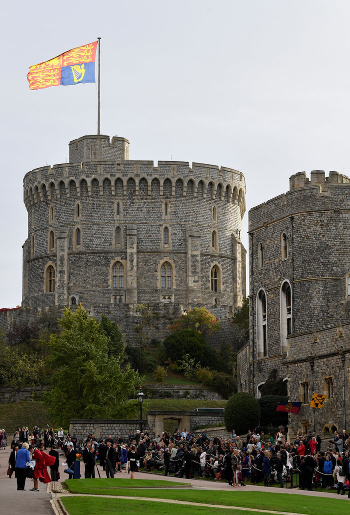 O βασιλικός γάμος της πριγκίπισσας Ευγενίας στο Κάστρο Γουίνσδορ - εικόνα 5