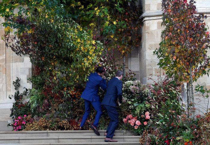 O βασιλικός γάμος της πριγκίπισσας Ευγενίας στο Κάστρο Γουίνσδορ - εικόνα 6