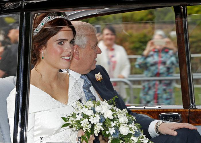 O βασιλικός γάμος της πριγκίπισσας Ευγενίας στο Κάστρο Γουίνσδορ