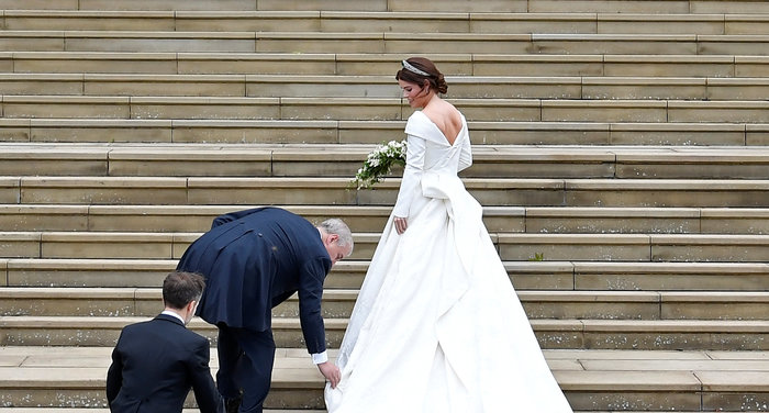 O βασιλικός γάμος της πριγκίπισσας Ευγενίας στο Κάστρο Γουίνσδορ - εικόνα 3