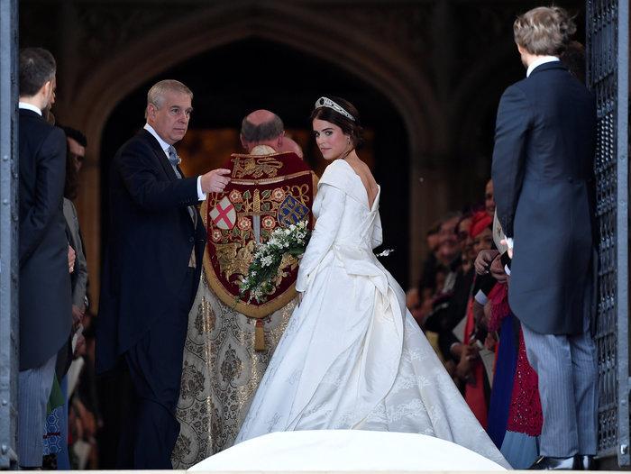 O βασιλικός γάμος της πριγκίπισσας Ευγενίας στο Κάστρο Γουίνσδορ - εικόνα 4