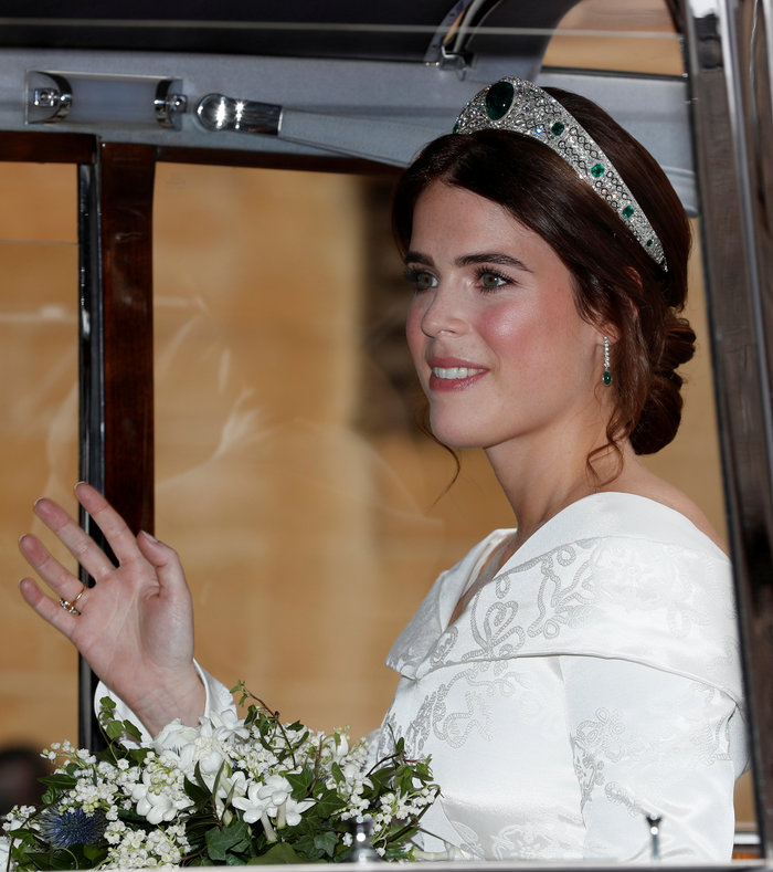 O βασιλικός γάμος της πριγκίπισσας Ευγενίας στο Κάστρο Γουίνσδορ - εικόνα 10