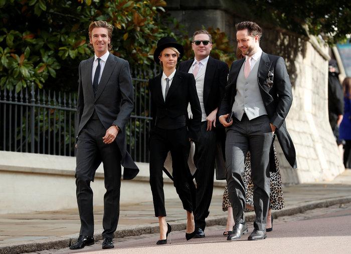 Βασιλικός γάμος: Διάσημη καλεσμένη «ντύθηκε άνδρας» και έκανε τη διαφορά