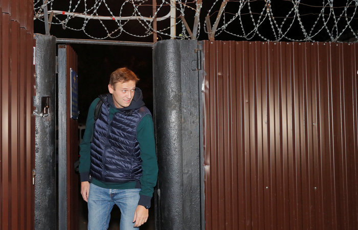 Αποφυλακίστηκε ο Ρώσος αντιφρονών Αλεξέι Ναβάλνι [Εικόνες]