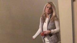 Αμερικανίδα εμπόδιζε άντρα να μπει στο σπίτι του λόγω χρώματος! (βίντεο)