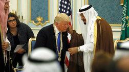 Washington Post: Ο Ντόναλντ Τραμπ καλύπτει το Ριάντ