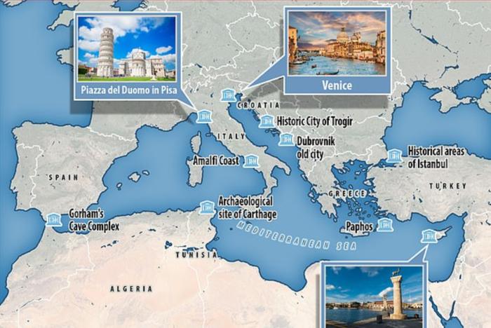 Κίνδυνος βύθισης για την Βενετία μέχρι το 2100-Και ελληνικά νησιά στη λίστα
