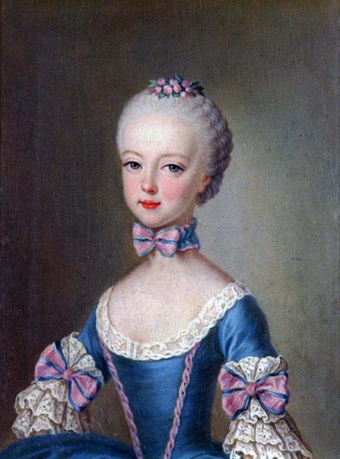 Η Μαρία Αντουανέτα σε ηλικία επτά ετών, 1763, Jean-Etienne Liotard, Wikipedia