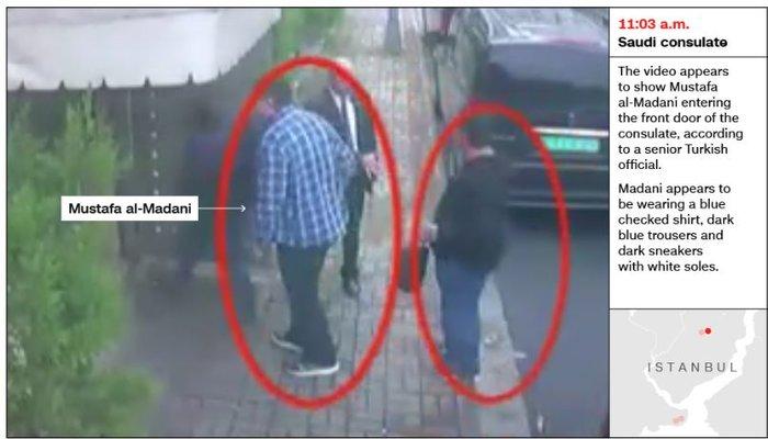 Aποκάλυψη CNN: Σαουδάραβας ντυμένος «Κασόγκι» μετά την δολοφονία - εικόνα 2