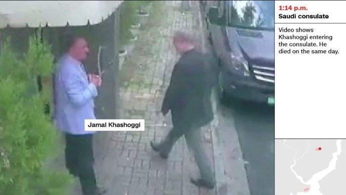 Aποκάλυψη CNN: Σαουδάραβας ντυμένος «Κασόγκι» μετά την δολοφονία - εικόνα 3