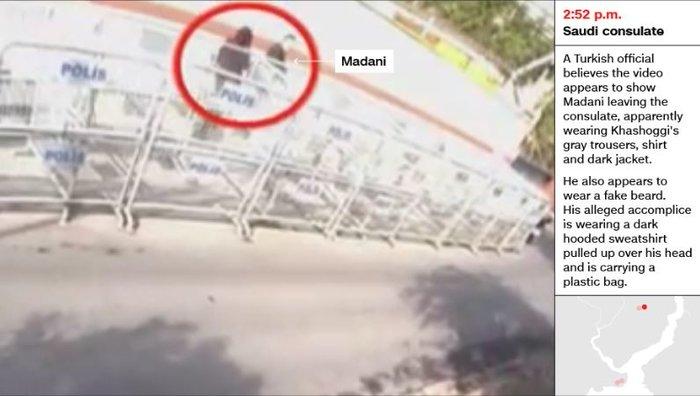 Aποκάλυψη CNN: Σαουδάραβας ντυμένος «Κασόγκι» μετά την δολοφονία - εικόνα 4
