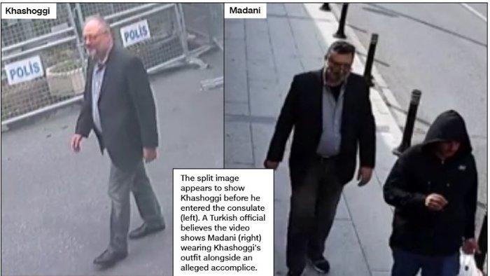 Aποκάλυψη CNN: Σαουδάραβας ντυμένος «Κασόγκι» μετά την δολοφονία - εικόνα 5