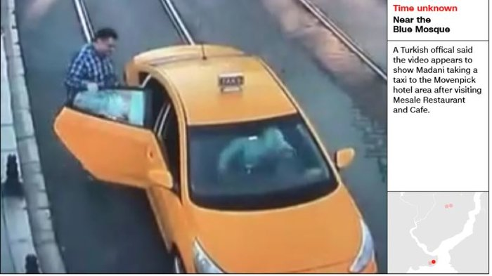Aποκάλυψη CNN: Σαουδάραβας ντυμένος «Κασόγκι» μετά την δολοφονία - εικόνα 7