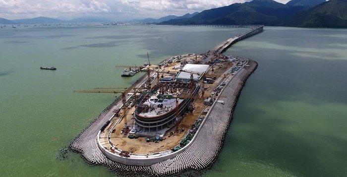 Κίνα: Παραδίδεται την Τετάρτη η μακρύτερη θαλάσσια γέφυρα του κόσμου - εικόνα 3