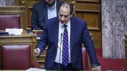 «Αρπάχτηκαν» για το... ΠΑΣΟΚ Σπίρτζης και Μανιάτης στη Βουλή