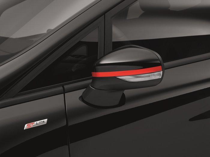 Βάλτε χρώμα στη ζωή σας: Ford Fiesta ST-Line Red και Black Edition - εικόνα 4