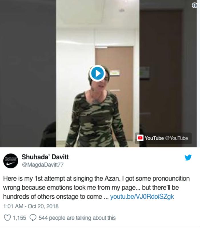 Η Σινέντ Ο' Κόνορ ασπάστηκε το Ισλάμ και λέγεται Σουxάντα Νταβίτ - εικόνα 3