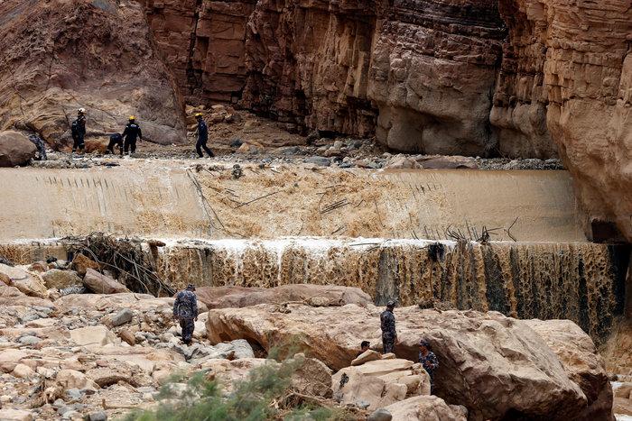 Iορδανία: 20 νεκροί μεταξύ τους πολλά παιδιά από τις πλημμύρες