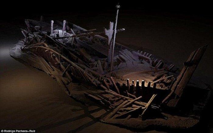 Το ατόφιο ναυάγιο της Μαύρης Θάλασσας που θα μείνει για πάντα στο βυθό - εικόνα 2