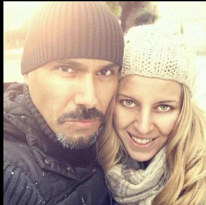 Σκουλός: Ο «κακός» του GNTM σε τρυφερές στιγμές με τη σύζυγο & την κόρη του