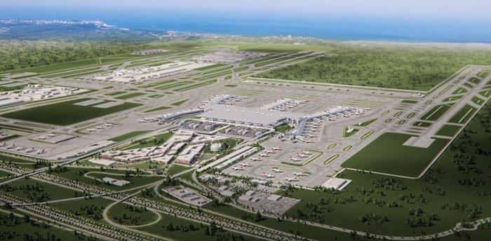 To αεροδρόμιο Κωνσταντινούπολης εγκαινιάζει ο Ερντογάν [βίντεο] - εικόνα 2