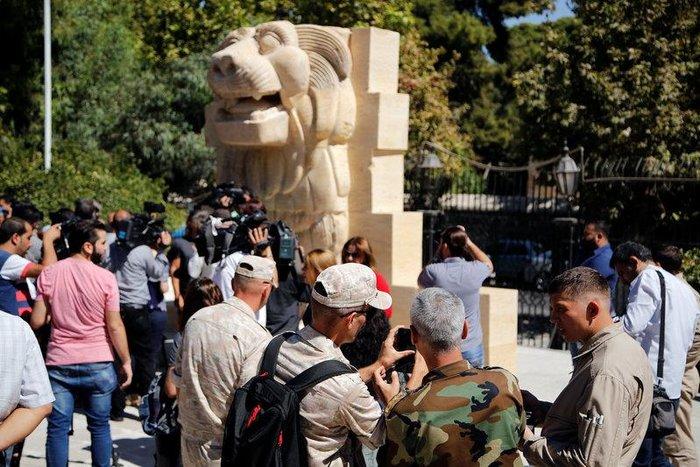 H Συρία άνοιξε ξανά το περίφημο αρχαιολογικό μουσείο της Δαμασκού - εικόνα 2