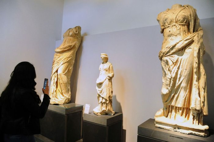 H Συρία άνοιξε ξανά το περίφημο αρχαιολογικό μουσείο της Δαμασκού - εικόνα 4