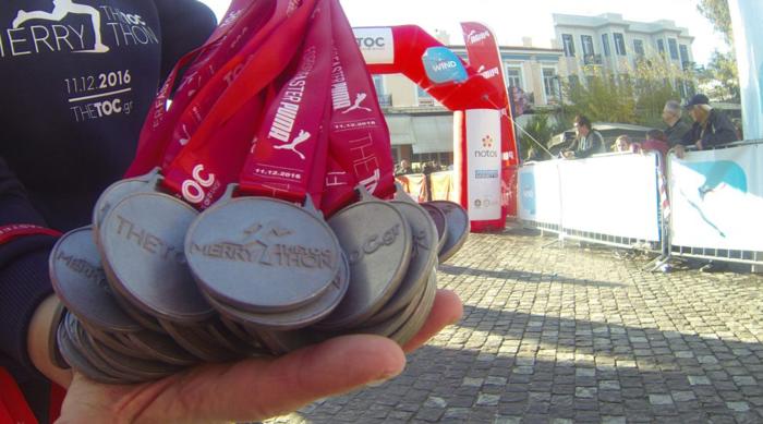 Τα μετάλλια του TheTOC Merrython 2016