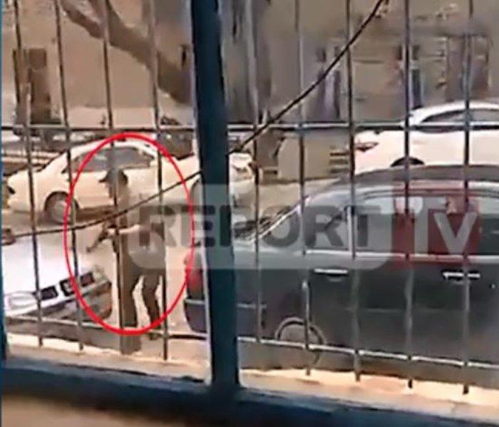 Η στιγμή της ανταλλαγής πυροβολισμών του Κατσιφά με αστυνομικούς - Βίντεο
