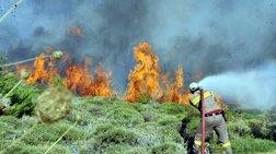 Φωτιά στη Σάρτη: Επτά χιλιάδες στρέμματα η καμμένη έκταση