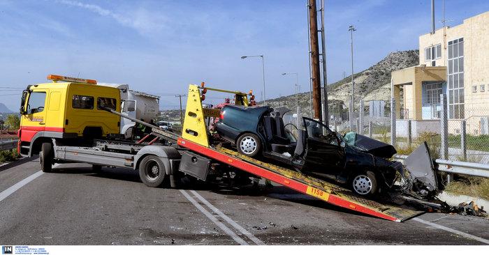 Δύο νεκροί σε τροχαίο στην παλαιά εθνική Αθηνών-Κορίνθου - εικόνα 4