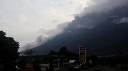 Γουατεμάλα: Ενεργοποιήθηκε ξανά το ηφαίστειο Ελ Φουέγο