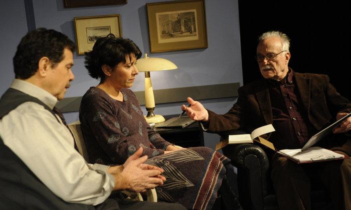Οι συζυγικές σχέσεις ενός ζευγαριού στη σκηνή του θεάτρου