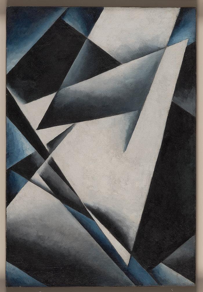 Λιουμπόβ Ποπόβα, Ζωγραφικό Αρχιτεκτόνημα, 1918, ΚΜΣΤ-Συλλογή Κωστάκη