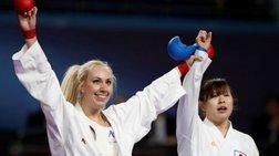 Παγκόσμια πρωταθλήτρια στο καράτε η Ελένη Χατζηλιάδου