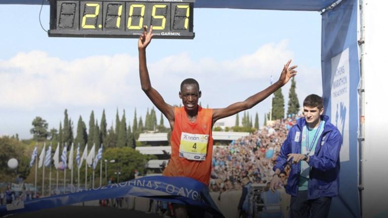 d3d47c0cc800 Νικητής ο κενυάτης Μπρίμιν Μισόι στον 36ο αυθεντικό Μαραθώνιο