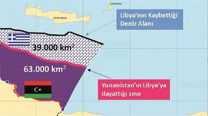 Ακάρ σε Λιβύη: Οι Έλληνες κλέβουν την ΑΟΖ σας [χάρτες[